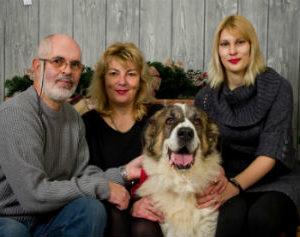 servizio fotografico professionale con animali domestici
