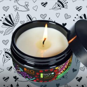 candela vegetale essenza balsamica