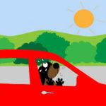 cosa fare se si vede un cane chiuso in macchina